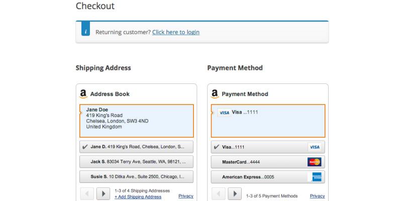 Pay With Amazon WooCommerce