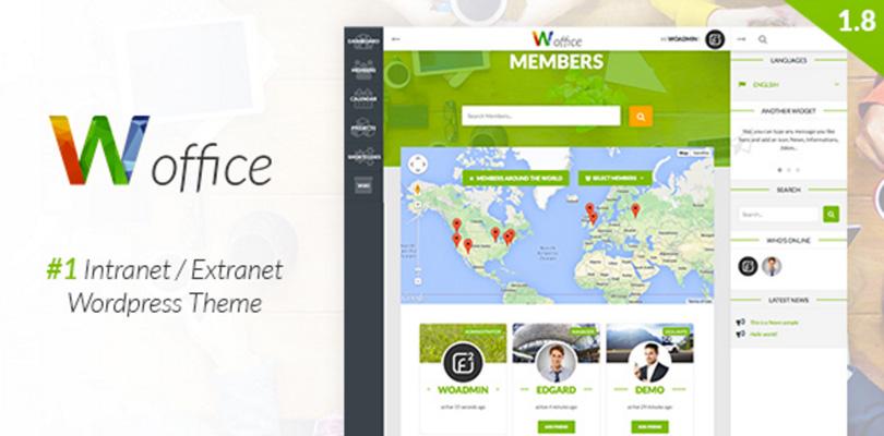 Woffice WordPress Theme