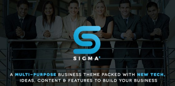 Sigma WordPress Business and Multi-Purpose Theme