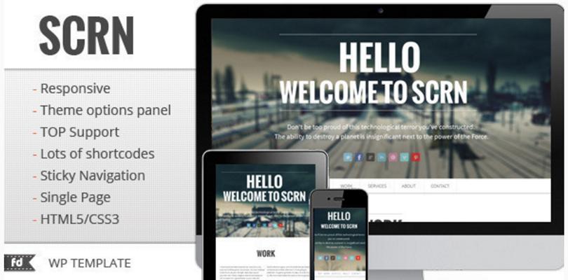 SCRN WordPress Theme