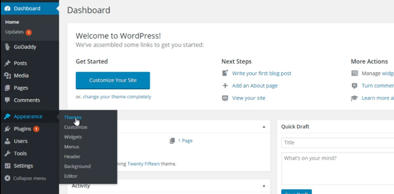 install-jupiter-from-wordpress-dashboard