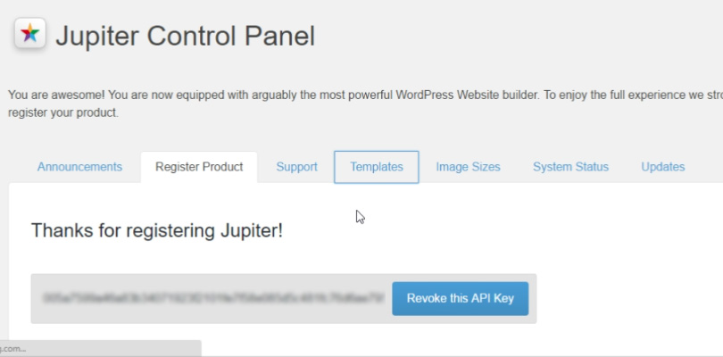 install-jupiter-register-product