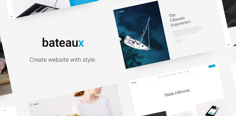 Bateaux creative multi purpose wordpress theme malvernweather Gallery