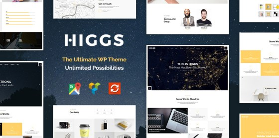 Higgs — the Ultimate WordPress Theme