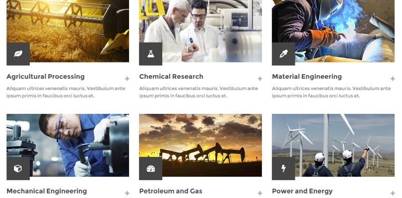 Industry — Business, Factory, Construction, Transport and Finance WordPress Theme