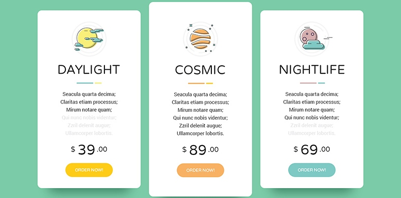 Create Perfect Pricing Tables with Premium WordPress Plugins