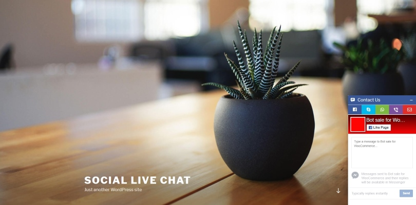 Social Tabs Live Chat