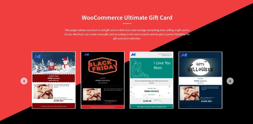 WooCommerce Ultimate Gift Card