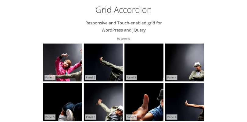 Grid Accordation