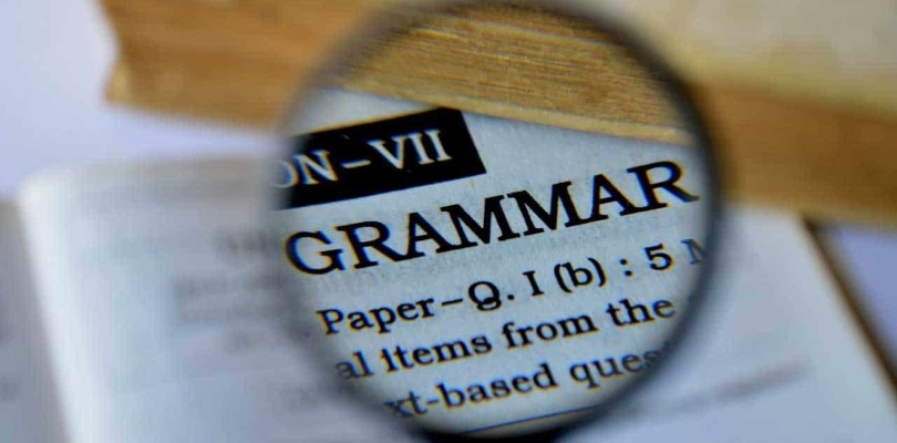 Grammar and Spelling