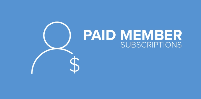 Paid Membership Website