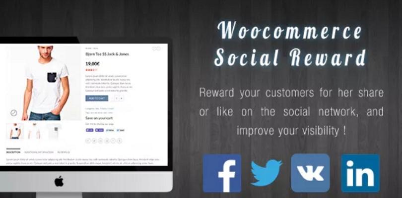WooCommerce Social Reward / Coupon