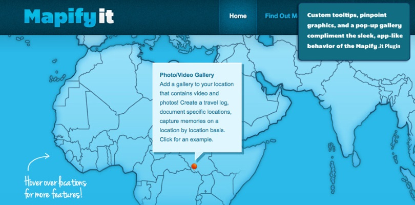 Mapify.It: Customized Google Maps for WordPress