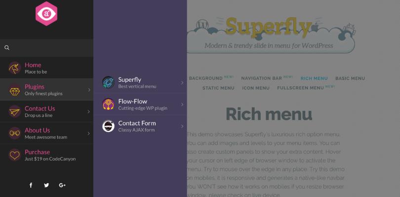 Superfly Menu