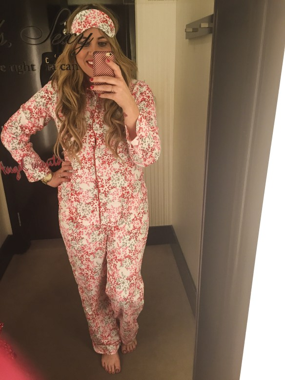 Dressing Room Dilemma Victoria Secret Christmas Pajamas