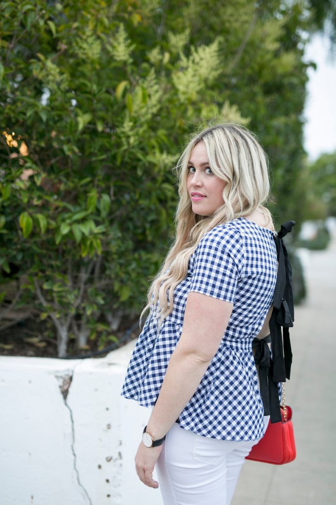 Peplum and Bows, peplum top, tied up top, bow back, ootd, san diego, san diego blogger, sd blogger, preggo, preggo blogger, style blogger, fashion blogger, maternity