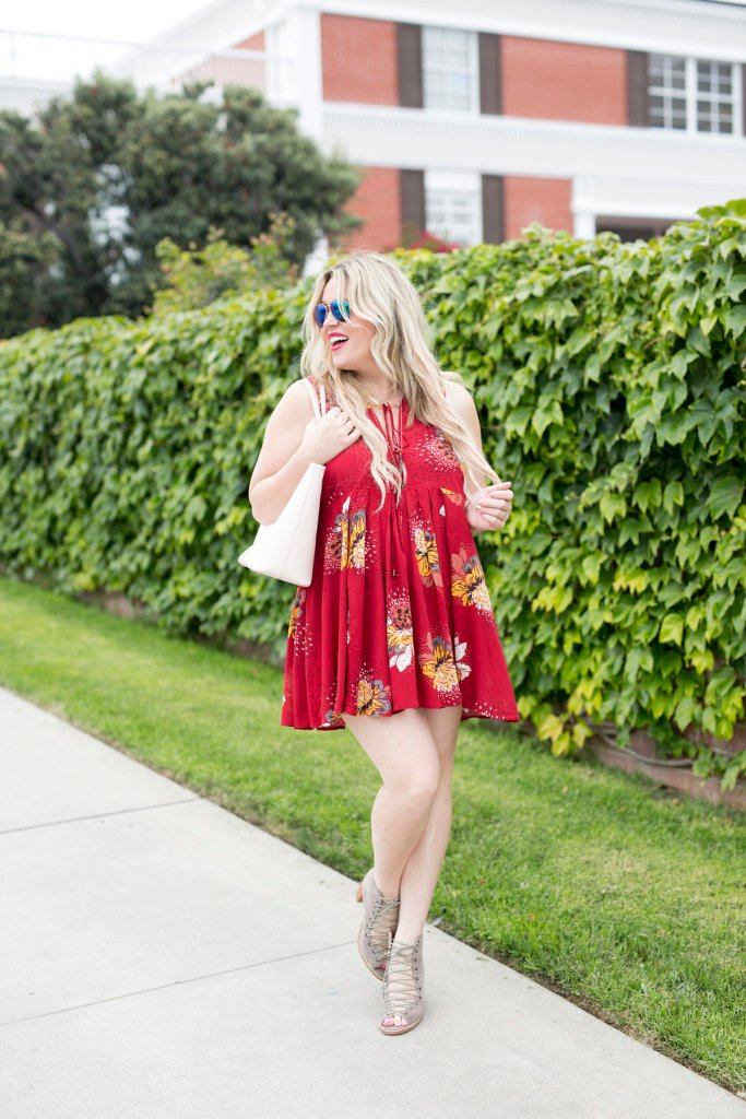 Red Dress xx Lace Up Heels, red dress, lace up heels, shopbop, shopbop style, style blogger, fashion blogger, ootd, san diego blogger, preggo blogger, maternity blogger, maternity, preggo, pregnant