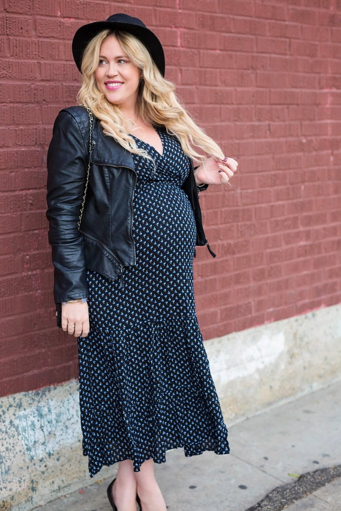 Dark Floral Maxi, dark florals for fall, fall fashion, fall style, ootd, fall ootd, maternity blogger, preggo blogger, san diego blogger, maxi dress, sale