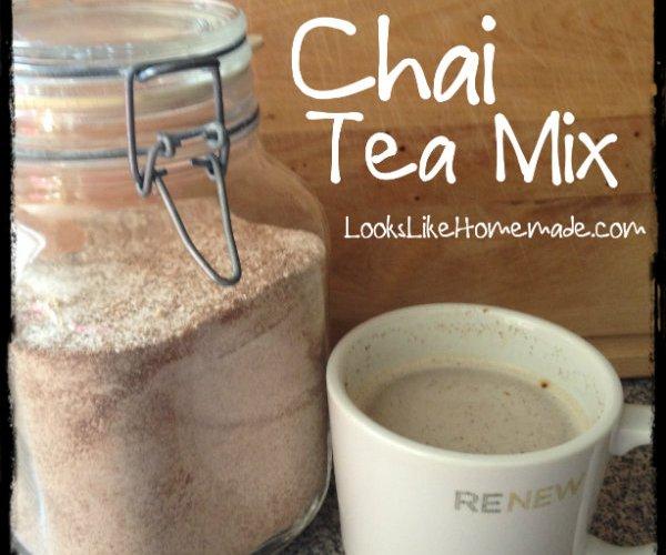 Spiced Chai Tea Mix Recipe