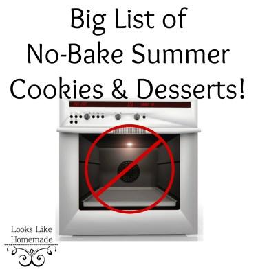 no bake banner