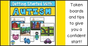 autism, speech therapy, special education, token boards, visual schedules, special education