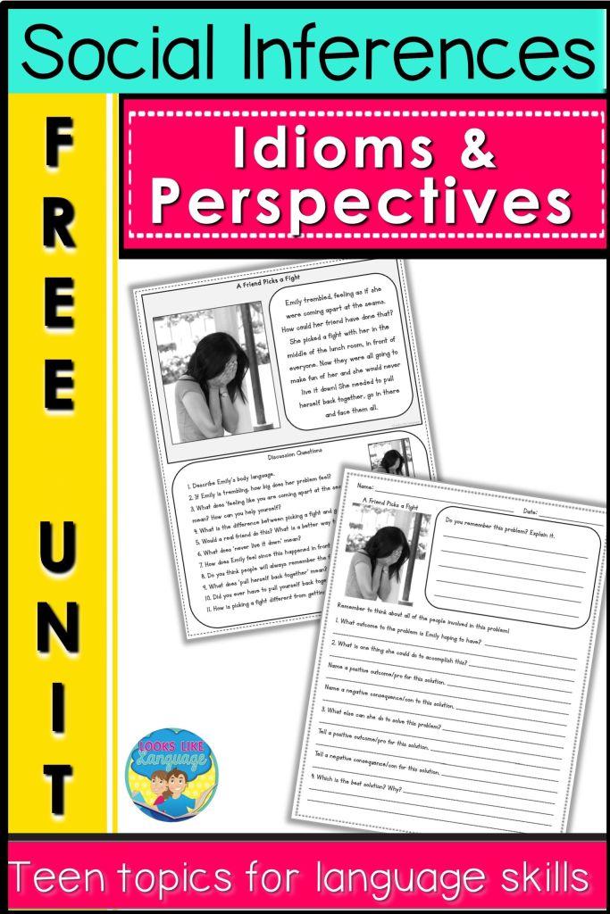 free printables, teen social skills