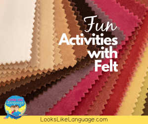 old and new fun activities with felt