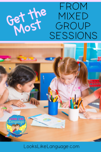 Get the most from mixed group sessions