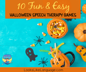 10 fun & easy halloween speech therapy games