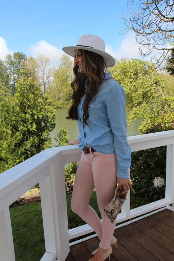 Perfect Chambray top from Sweetest Stitch