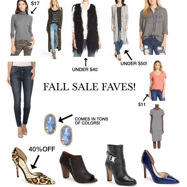 Fall Online shopping Sales