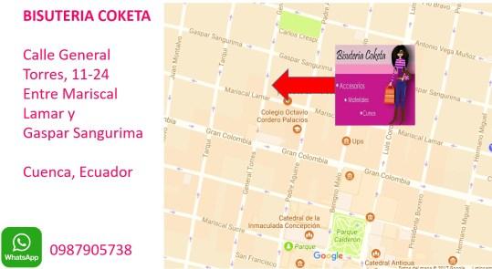 9 Direccion Bisuteria Coketa