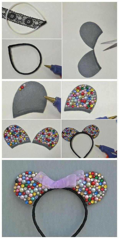Cintillo headband oerjas mickye mouse