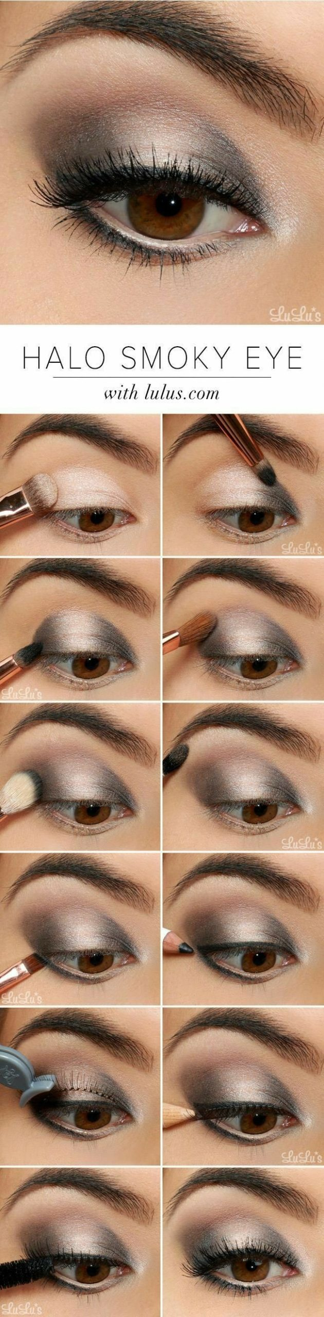 Ojos paso a paso maquillaje make up eyes
