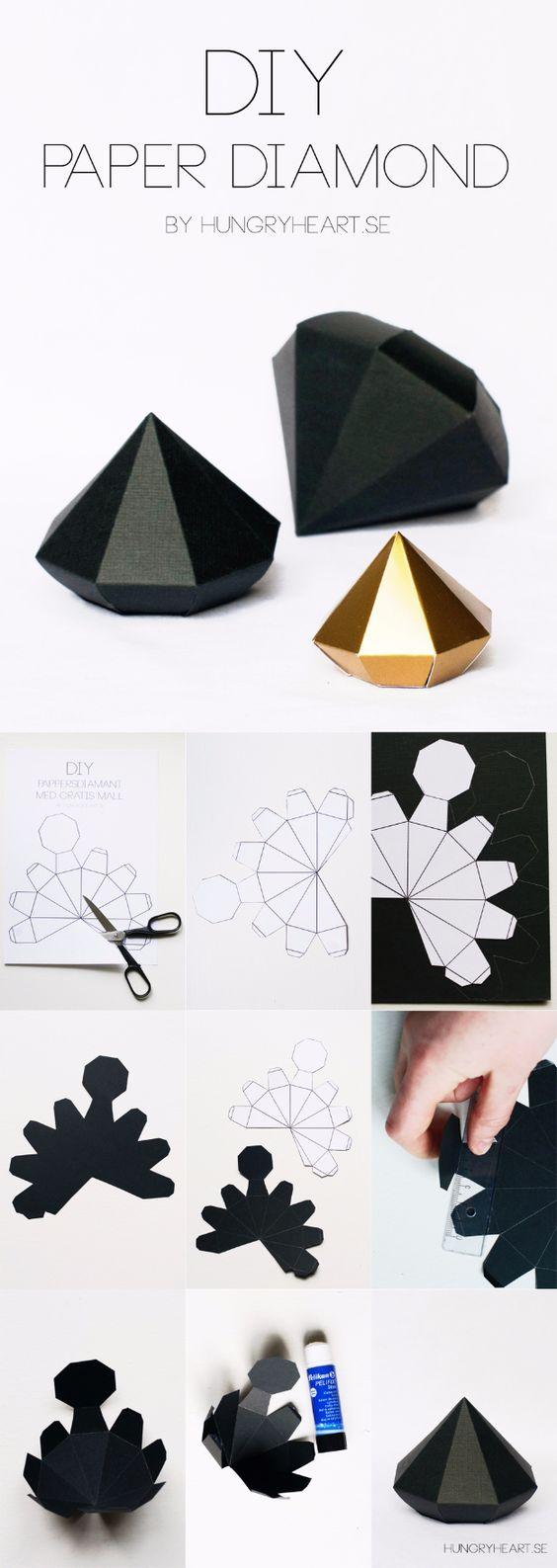 caja diamante manualidades paso a paso DIY gifts
