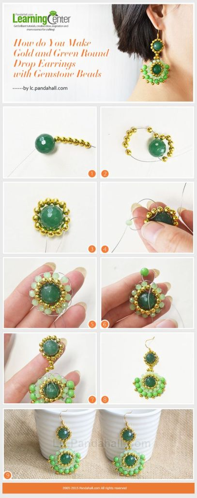 aretes earrings bisuteria jewelry handmade diy