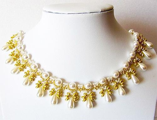 collares mostacillas lagrimas beads necklaces handmade jewelry beads
