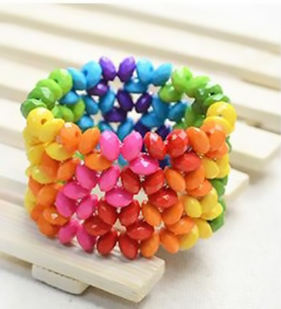 d50366e8ec60 PULSERA DE ARCOIRIS  Tutorial Paso a Paso    How to make this bracelet! –  Look so Cute