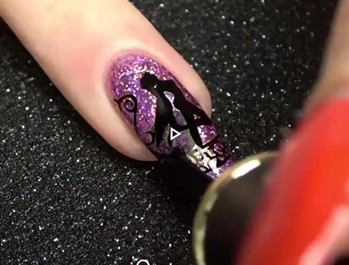 tutorial unas nails nailsart video
