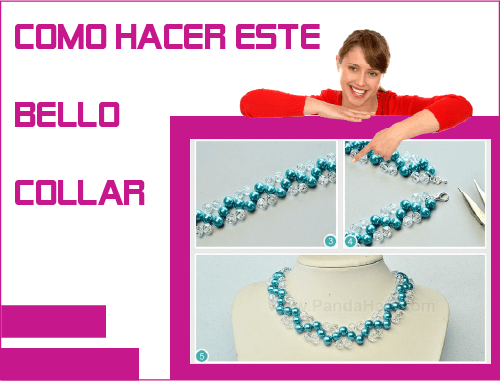 como hacer collar bisuteria handmade jewelry making supplies necklaces beads beading