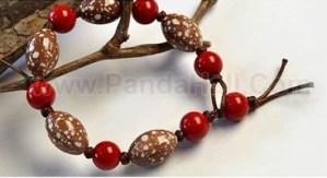 jewelry bisuteria handmade diy como hacer pulseras bracelets beads red mostacilla