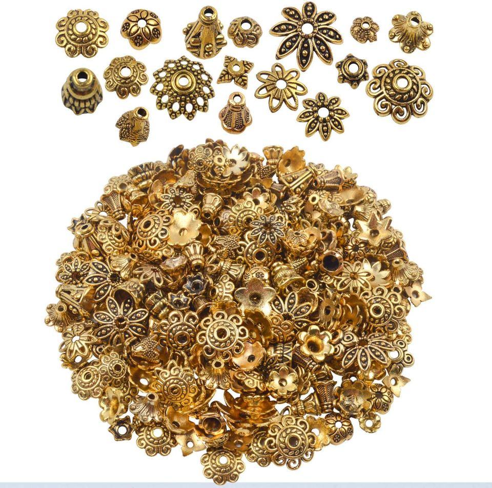 handmade jewelry making supplies beads caps