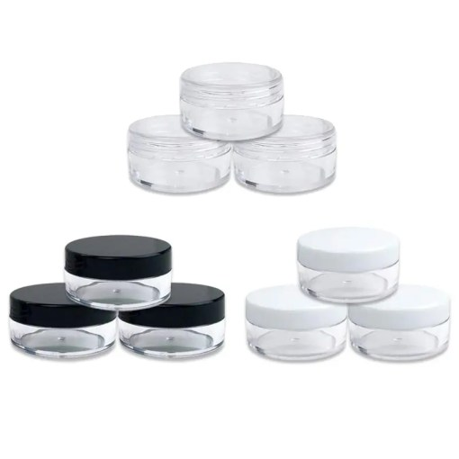 10 Pieces Of Empty Cosmetic Refillable Plastic Container Accessories Lookta Beauty View All