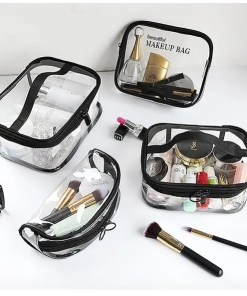 Waterproof Transparent Cosmetic Organizer Bag Accessories Makeup Lookta Beauty View All