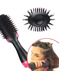 Professional Hair Dryer Brush 2 In 1 Straightener Lookta Beauty Hair View All