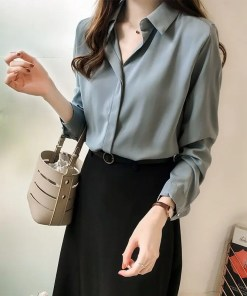 Long Sleeves Blouse Women's Fashion View All Women's Clothing Blouse