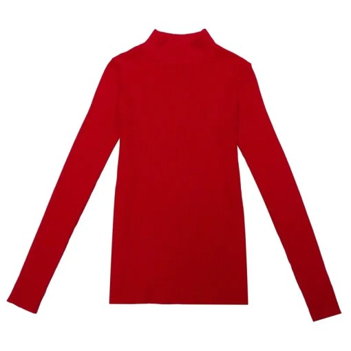 Long Sleeves Turtleneck Pullovers Sweaters Women's Fashion View All Women's Clothing Sweater