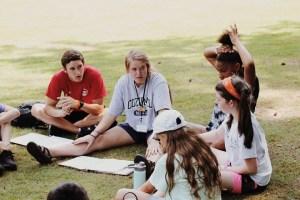 Teaching kids outside
