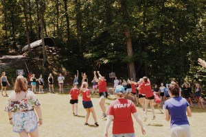Summer camp sports game