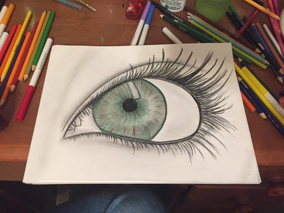 Focus on Beauty by Pearl Allard (Look Up Sometimes)